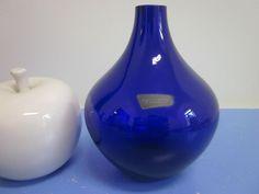 Füger Kristall Glasvase Vase Glas Kristall 50er 60er mid-century design