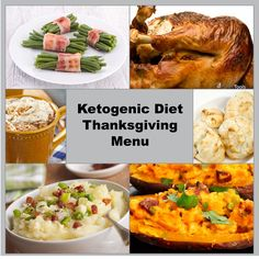 Complete Ketogenic Approved Thanksgiving Menu Including all the Recipes!