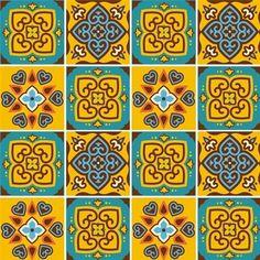 Adesivos de Azulejos Ladrilhos Hidráulicos Modelo 48
