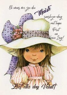 Goeie More, Good Morning Wishes, Afrikaans, Amanda, Teddy Bear, Fancy, Night