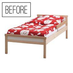 {also in english • también en español}  Da quando ho scritto il post sulla cameretta montessori di Oliver tutta  Ikea, molti di voi mi chiedono del letto. Preparatevi per una gita  all'Ikea, perché oggi vi racconto (con quanti più dettagli possibile) come  lo abbiamo fatto. È facilissimo.