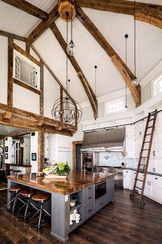 53+ Stunning Rustic Farmhouse Style Kitchen Decorating Ideas #kitchendesign #kitchenremodel #kitchendecor