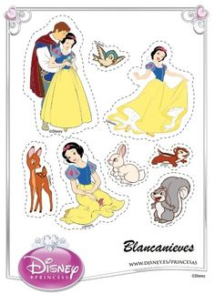 Snow White Cut Outs