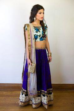 Sapna Amin anthro-ish lengha