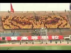 Asian Soccer Spectators Create 'Human Jumbotron'