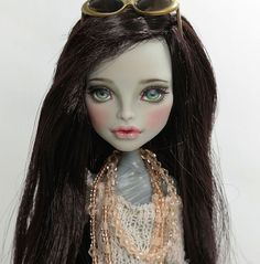 "** Veronia ** 11"" 12"" 1/6 OOAK custom Monster high CAM Mummy Repaint by Yu #Dolls"