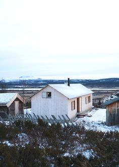 Vacation cabin in Norway by Aas/Thulow