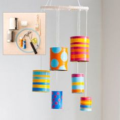 Make a Tin-Can Wind Chime - Tin Can Crafts - AllYou.com