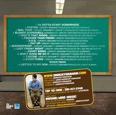 Check the tracklist for Ya Gotta Start Somewhere