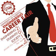 Career Fair Poster by iKaash