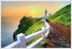 Bitou Cape. Northeast Coast National Scenic Area. New Taipei. #Taiwan 鼻頭角燈塔
