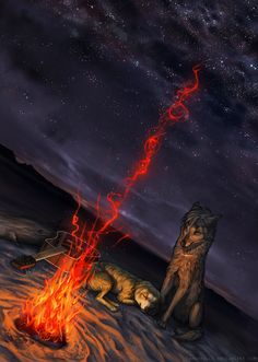 Fire Glow by TamberElla on DeviantArt  Awesome