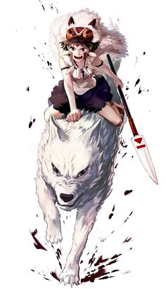 Mononoke Anime, Mononoke Cosplay, Studio Ghibli Art, Studio Ghibli Movies, Totoro, Princess Mononoke Wallpaper, Manga Anime, Anime Art, Anime Guys