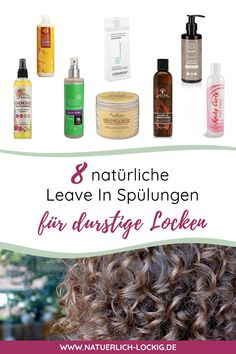 Die besten 9 Leave In Conditioner durstige Locken. Bist du auf der Such… The best 9 Leave In Conditioner for thirsty curls. Are you looking for a Leave In Conditioner without bad ingredients? I'll show you 8 moisturizing condioners for your curls. Natural Curls, Natural Hair Care, Natural Hair Styles, Diy Hair Care, Hair Care Tips, Curly Girls, Curly Hair Styles, Hair Care Recipes, Rides Front