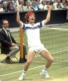 Watched McEnroe McKenna and Lendl play tennis live. Did that. Wow, great memory!