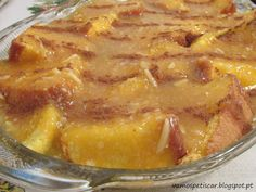 Portuguese Recipes, Portuguese Food, Flan, Food Inspiration, Bakery, Food And Drink, Pork, Sweets, Cooking
