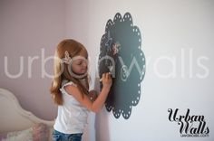 Childrens Room Decal Wall Sticker    So fun for a kids room or playroom!