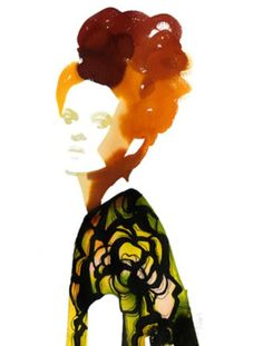 Fashion Illustrations by Stina Persson Art And Illustration, Watercolor Illustration, Watercolor Art, Watercolor Portraits, Stina Persson, Silhouette Mode, New York, Fashion Sketches, Fashion Illustrations