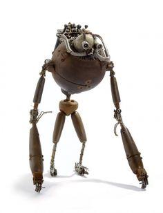 Les étranges personnages de Stephane Halleux stephane halleux sculpture personnage 20