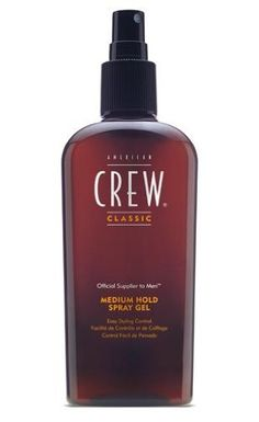 Black Friday American Crew Spray Gel for Men, Medium Hold 8.45fl oz from AMERICAN CREW