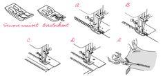 hoe naaien?en naaivoeten  Randen afwerken met je Lewenstein naaimachine