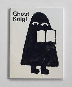 Ghost Knigi - author and illustrator Benjamin Sommerhalder, via 50watts