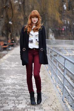 Beautiful red hair!