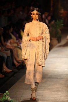 A sherwani jacket by Sabyasachi Mukherjee. #Bridelan