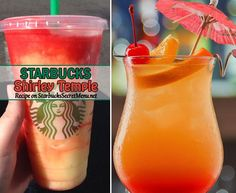 Shirley Temples are one of the most popular mocktails out there. Learn how to order our Starbucks version here!
