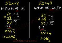 Anurupyena: Vedic Mathematics's shortcut technique to multiply mathlearners.com
