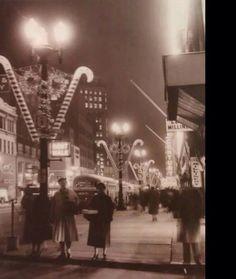 Downtown Buffalo, NY, 1956