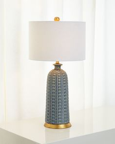 While looking for a lamp for your house, the number of choices are nearly unlimited. Discover the perfect living room lamp, bed room lamp, desk lamp or any other style for your particular space. Blue Table Lamp, Ceramic Table Lamps, Blue Lamps, Tall Table Lamps, Nightstand Lamp, Desk Lamp, Handmade Lamps, Handmade Ceramic, Bedroom Lamps