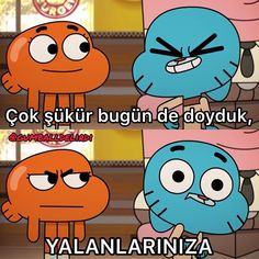 Cartoon Memes, Funny Cartoons, Funny Troll, World Of Gumball, Funny Times, Darwin, Disney Channel, Really Funny, Cool Words