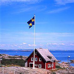 Göteborgs skärgård/the world's most beautiful archipelago: outside Gothenburg in Sweden.
