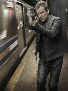 Kiefer Sutherland as Jack Bauer in (TV Series) Series Movies, Tv Series, Movies And Tv Shows, 24h Chrono, Spy Shows, You Don't Know Jack, Mystery Genre, Cop Show, Predator