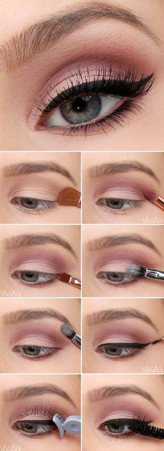 Make-up - Everyday makeup look . - Make-up - Makeup Goals, Makeup Inspo, Makeup Inspiration, Makeup Ideas, Makeup Tutorials, Makeup Hacks, Makeup Style, Eye Makeup Tips, Easy Eye Makeup
