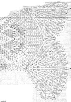 "Gold crochet: Wonderful centotavola ""Convallaria"" !!!"