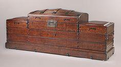 Camel Back Peg Corner-Combo Trunk Bench