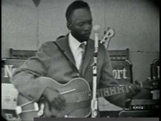 John Lee Hooker with Muddy's band