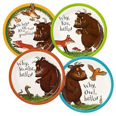 Party Ark's 'The Gruffalo Paper Plates'