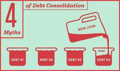 4 Biggest Myths Behind Debt Consolidation