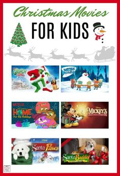 These Christmas Movies for Kids are part of a great list of Christmas movies to watch during Winter break, Christmas Eve, or Christmas day. Popular Christmas Movies, Christmas Movies List, Christmas Shows, Christmas Crafts For Kids, Christmas Activities, A Christmas Story, Christmas Fun, Holiday Movies, Xmas