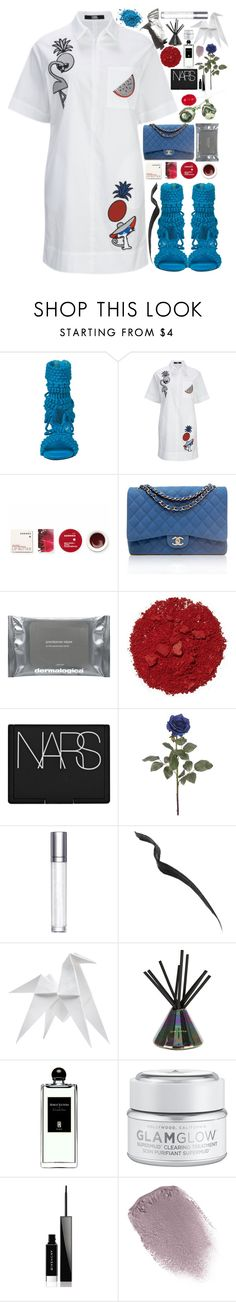 """""""Crushed"""" by finding-0riginality ❤ liked on Polyvore featuring Privileged, Korres, Chanel, Dermalogica, Garance Doré, Illamasqua, NARS Cosmetics, shu uemura, Topshop and Hermès"""