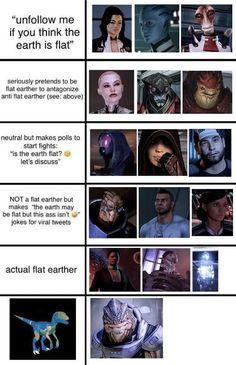 Mass Effect Funny, Mass Effect Garrus, Mass Effect 1, Mass Effect Universe, Saga, Commander Shepard, Critical Role Fan Art, Flat Earth, Video Game Art