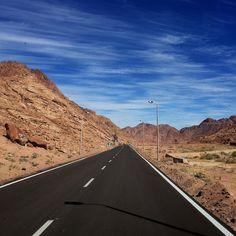 "elsha3rani: ""The way out of Saint Catherine convent #Sinai #Egypt #Nature #Beauty #Mountains """