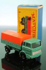 MATCHBOX MERCEDES BENZ LORRY TRUCK NO.1 & TRAILER BOX No.2 VINTAGE 1968 SET…