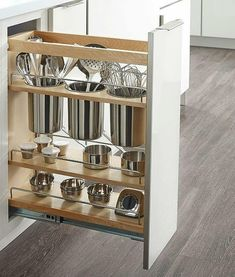Home Decor Inspiration : A kitchen cabinet pull-out for storage of kitchen utens.,Home Decor Inspiration : A kitchen cabinet pull-out for storage of kitchen utensils I need this! Elevate Your Place With New Kitchen Decoration Your . Diy Kitchen Storage, Kitchen Cabinet Organization, Home Decor Kitchen, Interior Design Kitchen, Organization Ideas, Cabinet Ideas, Organizing, Kitchen Designs, Utensil Drawer Organization
