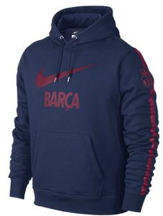 Barcelona Core Hoody Blue FC Barcelona Official Merchandise Available at www.itsmatchday.com