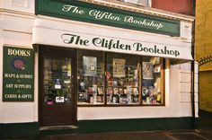 Run by the lovely (and brilliantly knowledgable) Nicole and Maire, The Clifden Bookshop places an emphasis on the local Connemara history and Irish literature. If you ever find yourself in the capital of Connemara, stop in.