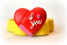1141 I love you Heart Valentine Silicone Rubber by MasterMolds